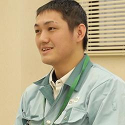 技術開発課/松生健太郎 2012年入社